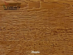 LP SmartSide, Engineered Wood Cedar Texture Lap Siding - Maple Stain