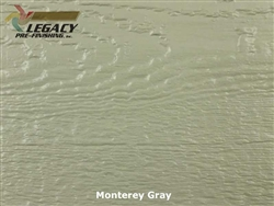 LP SmartSide, Engineered Wood Cedar Texture Lap Siding - Monterey Gray