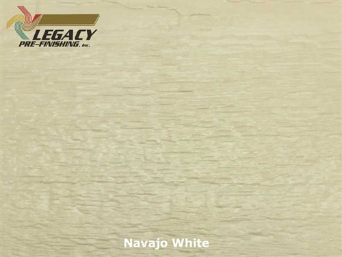 LP SmartSide, Engineered Wood Cedar Texture Lap Siding - Navajo White