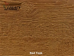 LP SmartSide, Engineered Wood Cedar Texture Lap Siding - Red Teak Stain