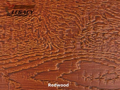 LP SmartSide, Engineered Wood Cedar Texture Lap Siding - Redwood Stain