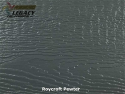 LP SmartSide, Engineered Wood Cedar Texture Lap Siding - Roycroft Pewter