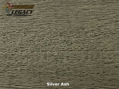 LP SmartSide, Engineered Wood Cedar Texture Lap Siding - Sliver Ash Stain