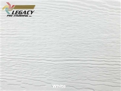 LP SmartSide, Engineered Wood Cedar Texture Lap Siding - White