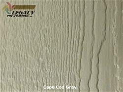 LP SmartSide Prefinished Panel Siding - Cape Cod Gray