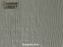LP SmartSide Prefinished Panel Siding - Gauntlet Gray