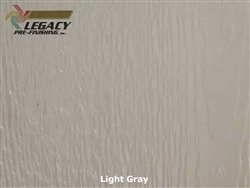LP SmartSide Prefinished Panel Siding - Light Gray