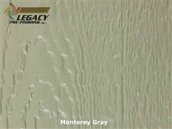 LP SmartSide Prefinished Panel Siding - Monterey Gray