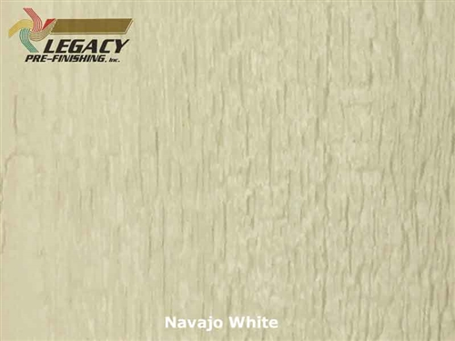 LP SmartSide Prefinished Panel Siding - Navajo White