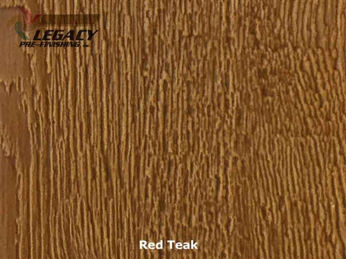 LP SmartSide Prefinished Panel Siding - Red Teak