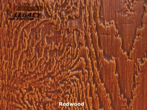 LP SmartSide Prefinished Panel Siding - Redwood