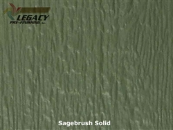 LP SmartSide Prefinished Panel Siding - Sagebrush Green