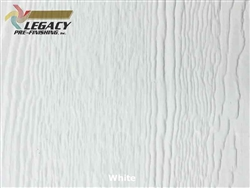 LP SmartSide Prefinished Panel Siding - White