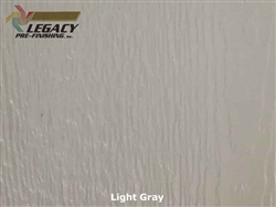 Prefinished LP­ SmartSide, Engineered Wood Soffit - Light Gray