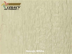 Prefinished LP­ SmartSide, Engineered Wood Soffit - Navajo White