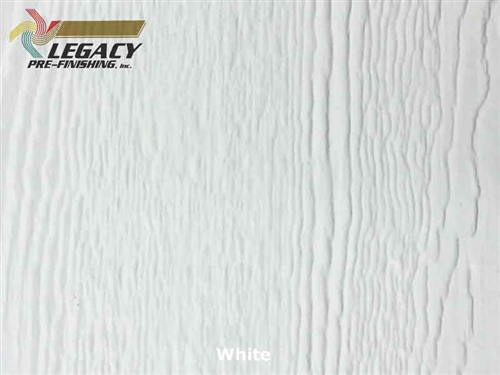 Prefinished LP­ SmartSide, Engineered Wood Soffit - White