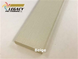 Prefinished LP Smartside Trim - Beige