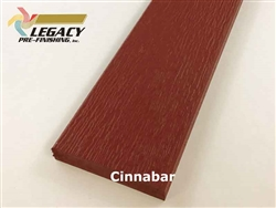 Prefinished LP Smartside Trim - Cinnabar