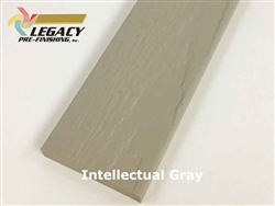 Prefinished LP Smartside Trim - Intellectual Gray