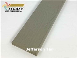 Prefinished LP Smartside Trim - Jefferson Tan