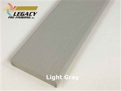 Prefinished LP Smartside Trim - Light Gray