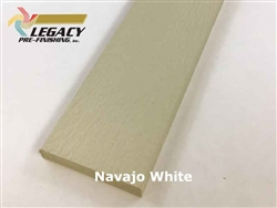 Prefinished LP Smartside Trim - Navajo White