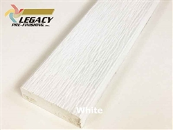 Prefinished LP Smartside Engineered Wood Trim - White