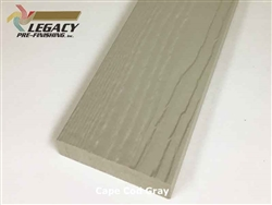 Prefinished MiraTEC Exterior Composite Trim - Cape Cod Gray