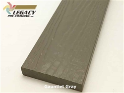 Prefinished MiraTEC Exterior Composite Trim - Gauntlet Gray