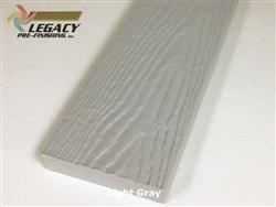 Prefinished MiraTEC Exterior Composite Trim - Light Gray