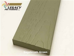 Prefinished MiraTEC Exterior Composite Trim - Sagebrush Green
