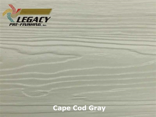 Nichiha, Pre-Finished Fiber Cement Cedar Lap Siding - Cape Cod Gray