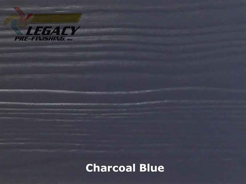 Nichiha, Pre-Finished Fiber Cement Cedar Lap Siding - Charcoal Blue
