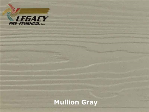 Nichiha, Prefinished Fiber Cement Lap Siding - Mullion Gray