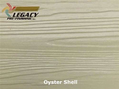 Nichiha, Pre-Finished Fiber Cement Cedar Lap Siding - Oyster Shell