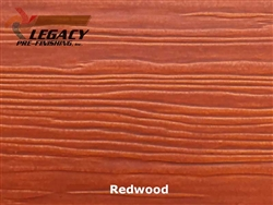 Nichiha, Pre-Finished Fiber Cement Cedar Lap Siding - Redwood Stain