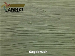 Nichiha, Pre-Finished Fiber Cement Cedar Lap Siding - Sagebrush Stain