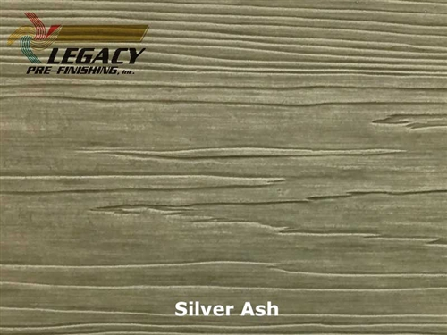 Nichiha, Pre-Finished Fiber Cement Cedar Lap Siding - Silver Ash Stain
