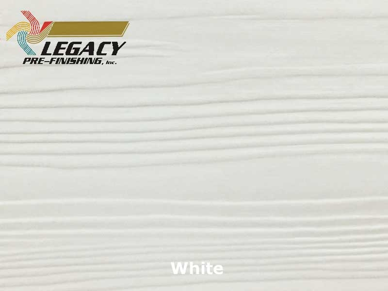 Nichiha Prefinished Fiber Cement Lap Siding White