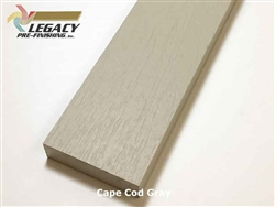 Plycem, Pre-Finished Reversible Fiber Cement Trim - Cape Cod Gray