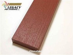 Plycem, Pre-Finished Reversible Fiber Cement Trim - Cinnabar