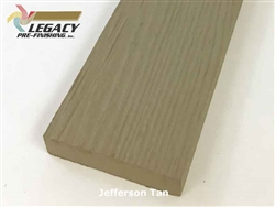 Plycem, Pre-Finished Reversible Fiber Cement Trim - Jefferson Tan
