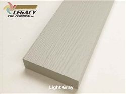 Plycem, Pre-Finished Reversible Fiber Cement Trim - Light Gray