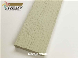 Plycem, Pre-Finished Reversible Fiber Cement Trim - Navajo White