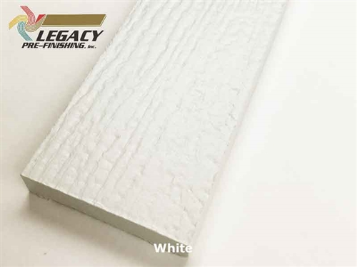 Plycem, Pre-Finished Reversible Fiber Cement Trim - White