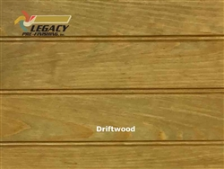 Southern Yellow Pine Prefinished Tongue and Groove Edge/Center Bead Paneling - Driftwood Stain