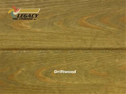 Southern Yellow Pine Prefinished Tongue and Groove V-Joint Paneling - Driftwood