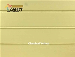 Spruce Prefinished Tongue and Groove Bead Board - Classical Yellow