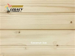 Spruce Prefinished Tongue and Groove Bead Board - Coconut Ice