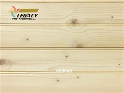 Spruce Prefinished Tongue and Groove Edge/Center Bead Paneling - Pickled
